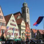 Main place Dinkelsbuhl, Germany