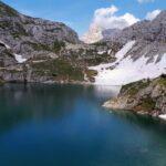 Coldai lake, Civetta, Dolomite, Italy