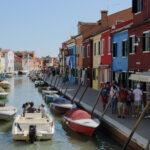 Burano sea channel, Venice, Italy